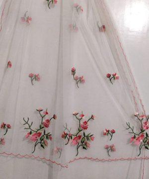 handmade net dupatta 2