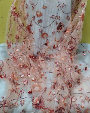 handmade net dupatta 4