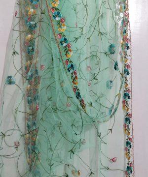 handmade net dupatta 6