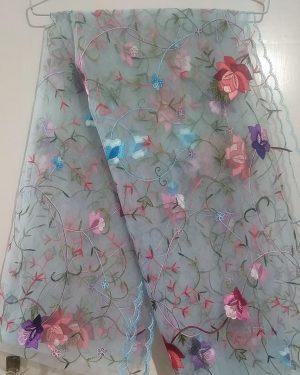 handmade net dupatta 13