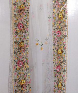 handmade net dupatta 8
